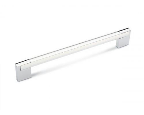 Ручка мебельная D-450/128 G2/OS хром
