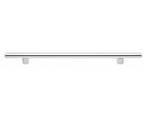 Ручка мебельная L-480 хром/сатин
