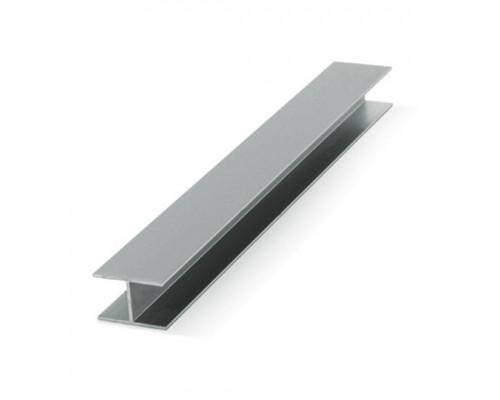 Профиль алюминиевый стыковочный для раздвижных дверей