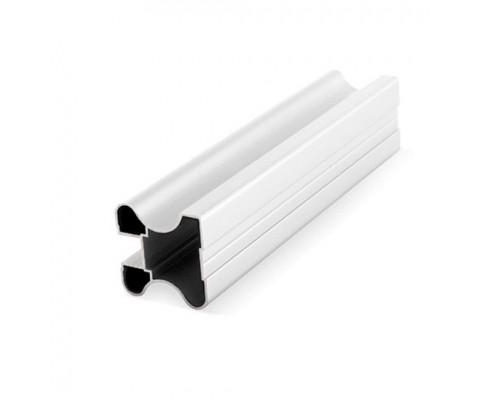 Профиль алюминиевый вертикальный закрытая ручка для раздвижных дверей