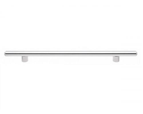 Ручка мебельная L-320 хром/сатин