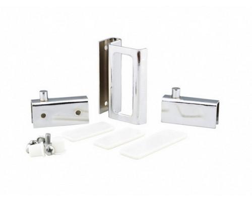 Комплект для стекляных дверок ZS 90 хром