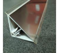 Плинтус для столешницы алюминий LS