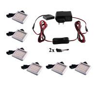 Комплект светодиодных светильников 2-6шт
