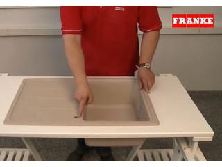 Как сделать отверстие в мойке из фрагранита