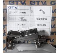 Петля GTV 165° ZP-KT165H2-BE (с монтажной планкой)
