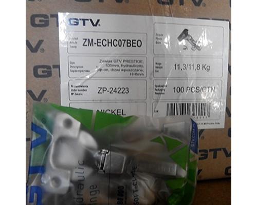 Петля GTV внутренняя Prestige ZM-ECHC07BEO с доводчиком (с монтажной планкой)