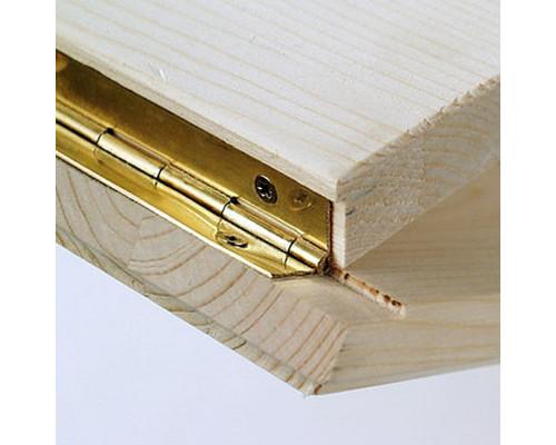 Петля рояльная 1.7 м (золото)