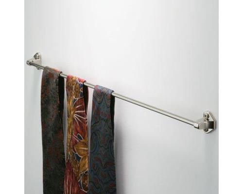 Держатель для галстуков 425 мм, никель полированный.