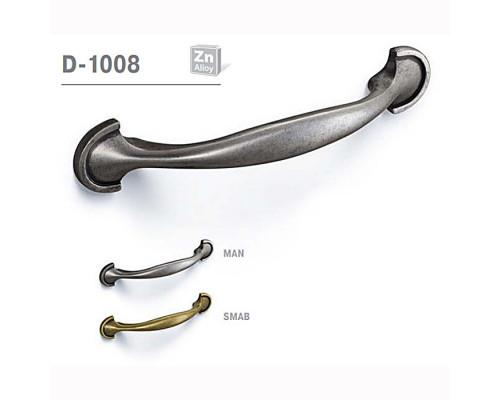 Ручка мебельная D-1008 матовый античный никель