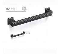 Ручка мебельная D-1010 матовая темная античная бронза