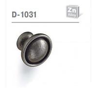 Ручка мебельная D-1031 матовый античный никель