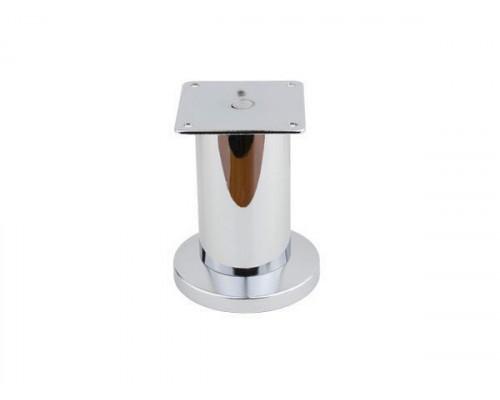 Ножка мебельная NL 12/100R регулируемая хром