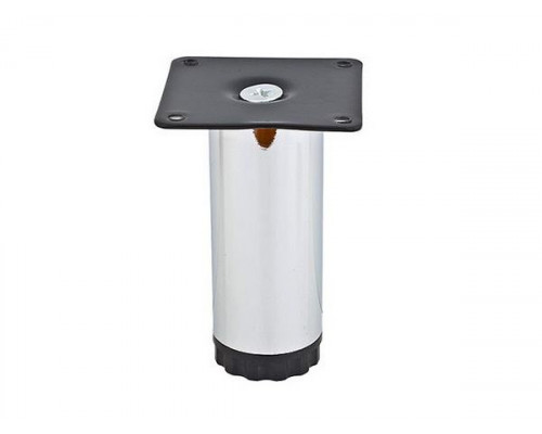 Ножка мебельная NL 13/100R регулируемая хром