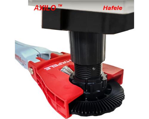 Опора кухонная Axilo H=100 черная на 150кг