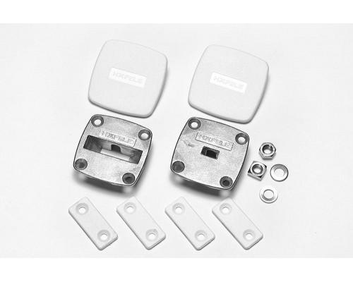 Выравнивающая фурнитура для тонких дверей Planofit (Hafele) 2 комплектa