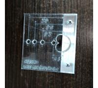 Шаблон (кондуктор) под эксцентриковую стяжку Minifix