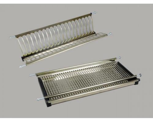 Сушка кухонная для посуды 500/900 мм нержавейка люкс