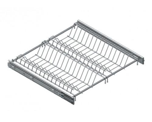 Сушка для посуды кухонная выдвижная Starax 600мм с доводчиком хром