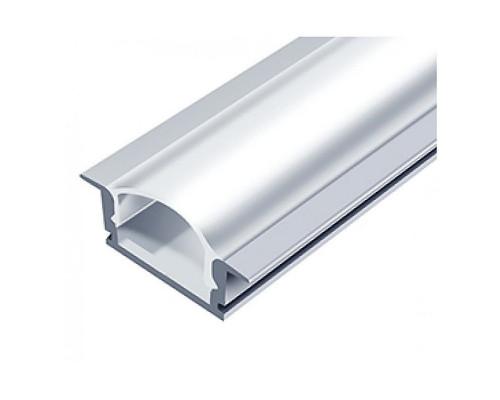 Профиль врезной для светодиодной (LED) ленты 2м