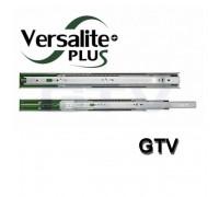 Направляющая телескопическая Versalite Plus полного выдвижения* (с доводчиком) (комплект)