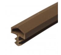 Уплотнитель ПВХ для межкомнатных дверей 10 мм (25 м)
