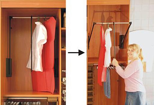 Шкаф со штангой своими руками