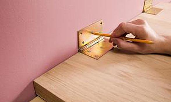 Как изготовить откидной столик